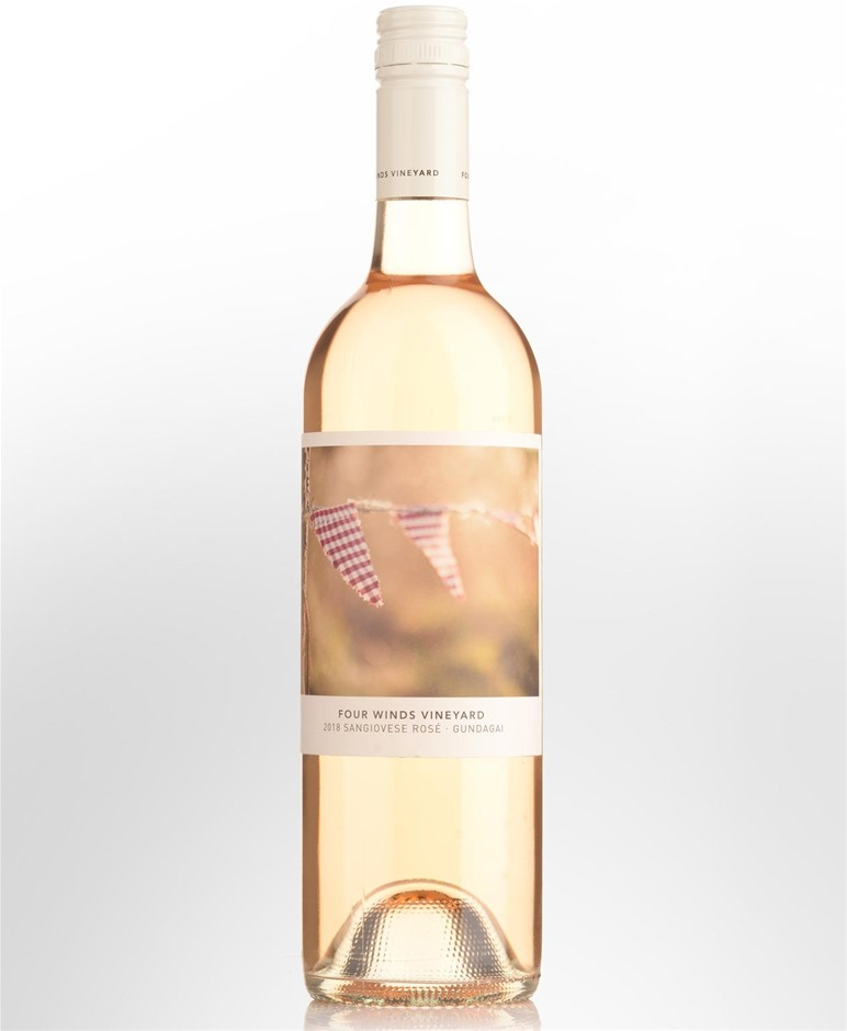 Four Winds Rose Sangiovese 2019 (12x 750mL). ACT.