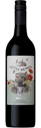 Maxwell Little Demon Grenache Shiraz Mataro 2017 (12x 750mL). SA.