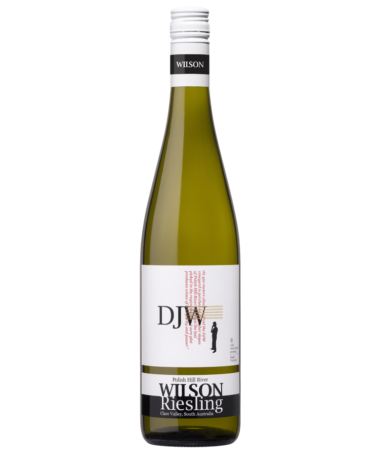 Wilson Vineyard DJW Riesling 2020 (12x 750mL). Clare Valley, SA.