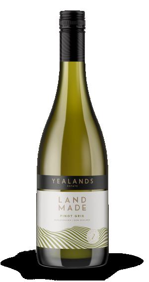 Yealands Estate Land Made Series Pinot Gris 2019 (12x 750mL). NZ.