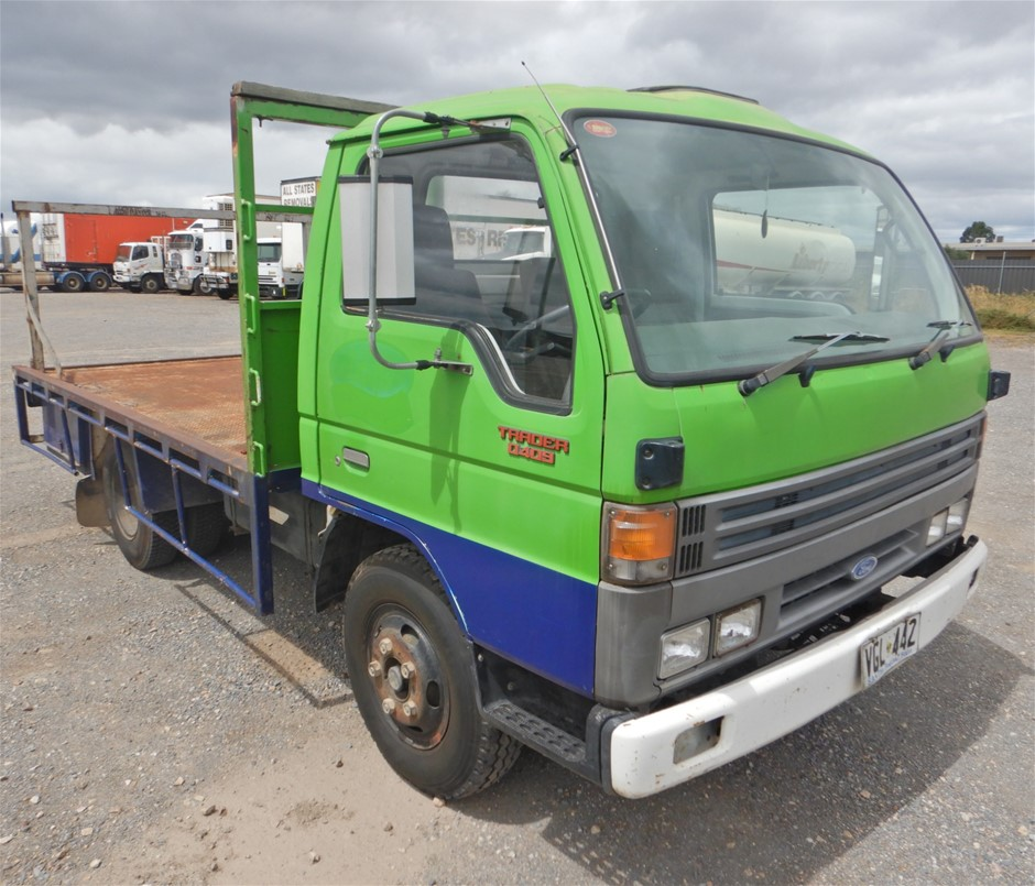 1989 Ford Trader 0409 4x2 Tray Body Truck (Pooraka, SA)