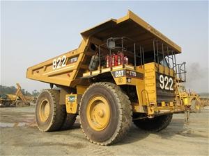 2004 Caterpillar 777D Rigid Dump Truck (