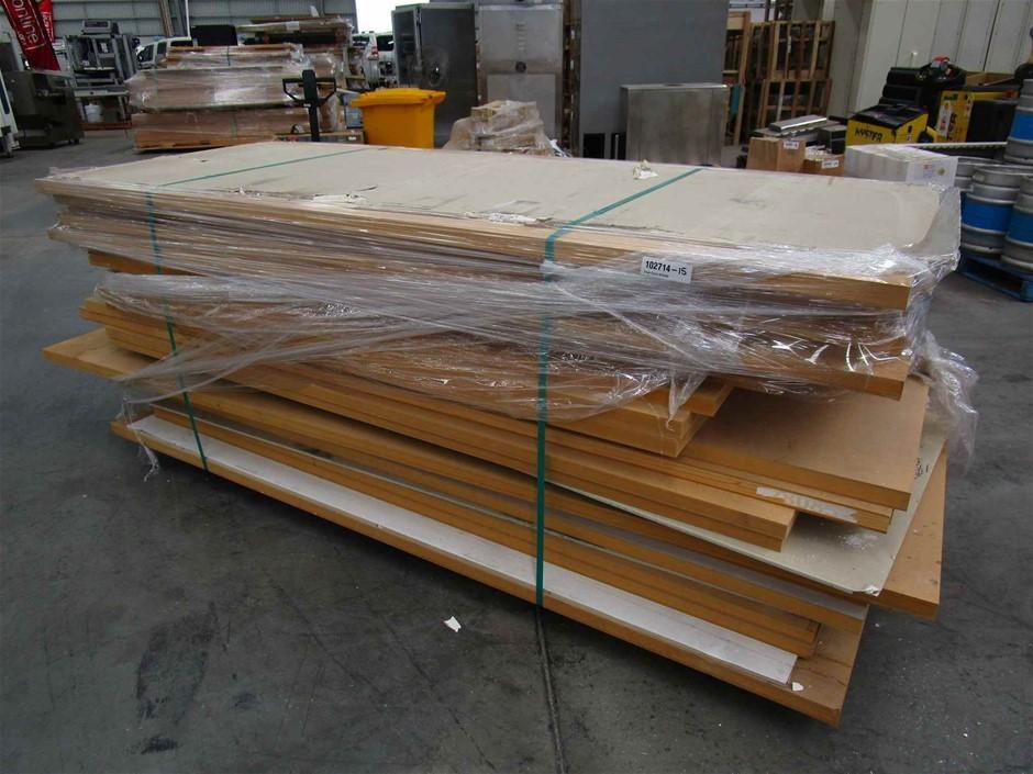 Pallet of 21 x Timber Doors