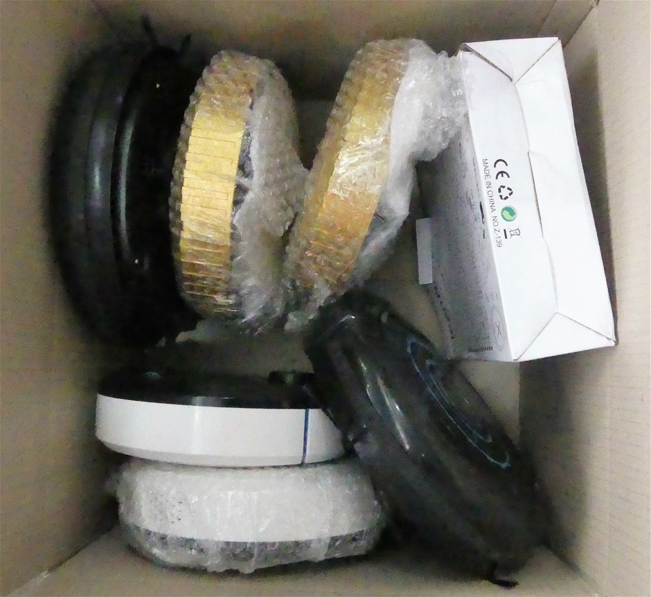 Pallet of Assorted Automatic Smart Robot Vacuum Cleaners