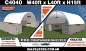 Unused Container Shelters - Perth