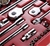 SIDCHROME 80pc Socket Set 1/2`` & 3/8`` & 1/4`` Drive, Contents: 34 x Metri