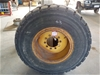 Grader Tyre and Rim