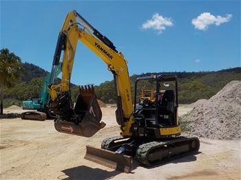 2018 Yanmar Vio55-6BP Excavator