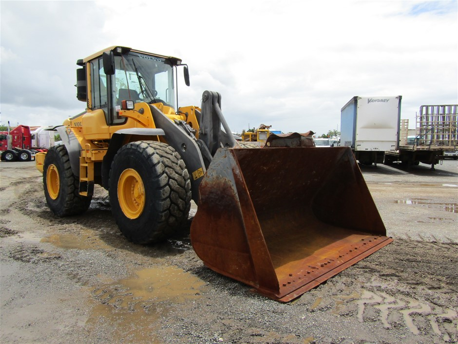 2012 Volvo L120F Wheel Loader