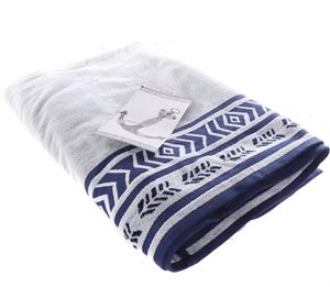 RESORT LIVING Beach Towel, 100% Cotton,