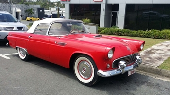 1955 Ford Thunderbird Automatic Convertible
