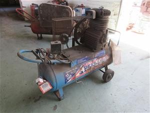 Peerless 240v 395Litre Air Compressor
