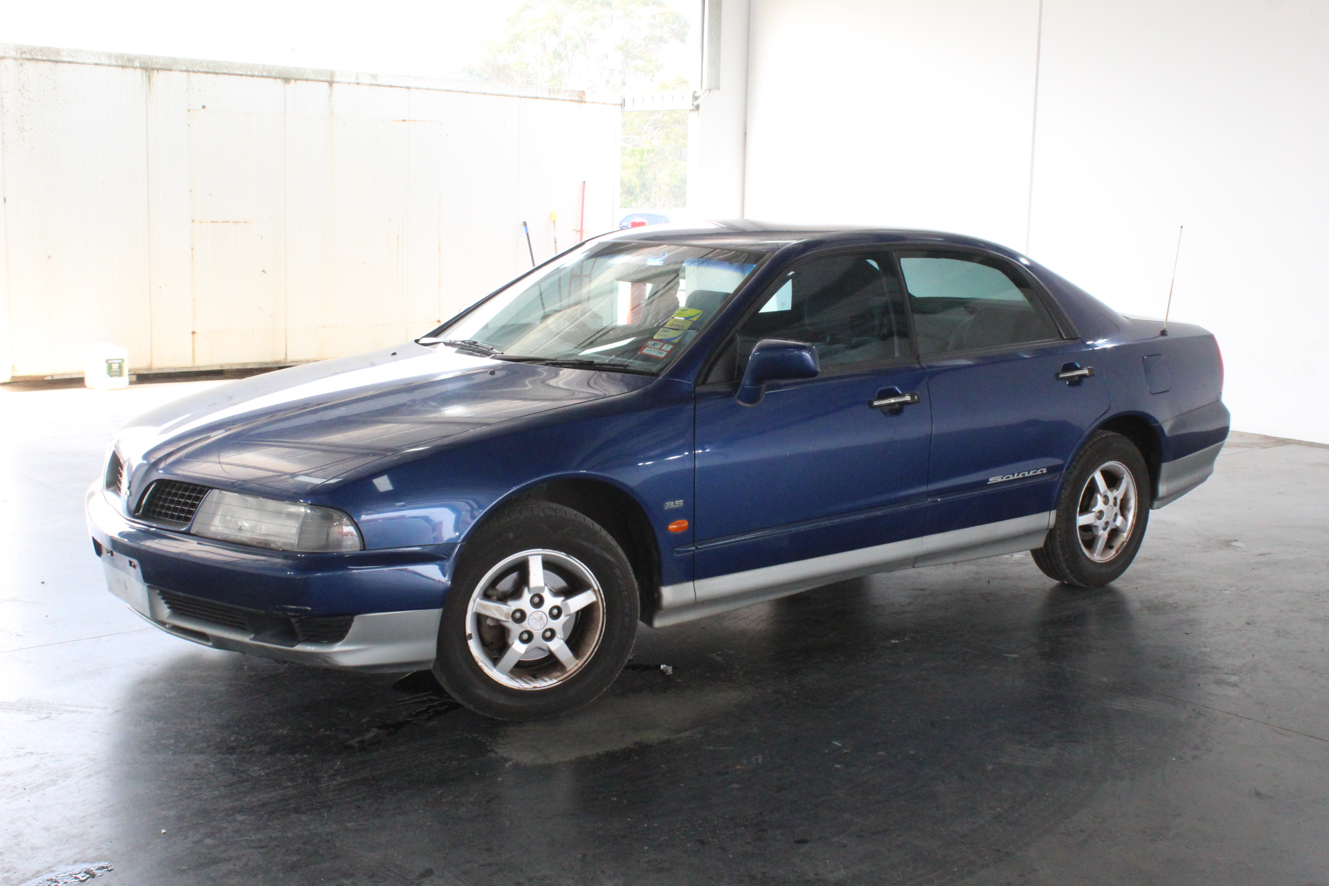 2001 Mitsubishi Magna Advance TJ II Automatic Sedan