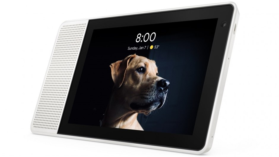 Lenovo 8-inch SMART Display with the Google Assistant, Grey