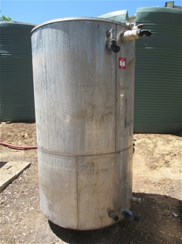 Stainless Steel Heat Exchanger Tank