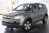 Unreserved 2009 Holden Captiva SX (4x4) CG Automatic 7 Seats