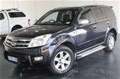 Unreserved 2010 Great Wall X240 4X4 Manual Wagon