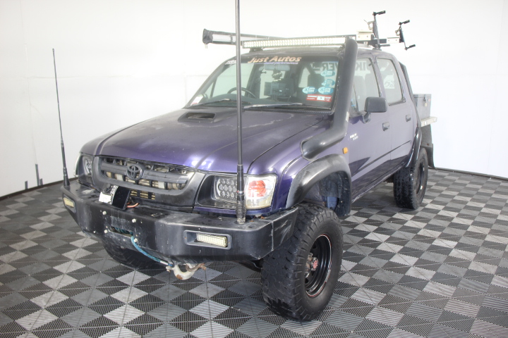 2002 Toyota Hilux 3.0 Turbo Diesel 4WD