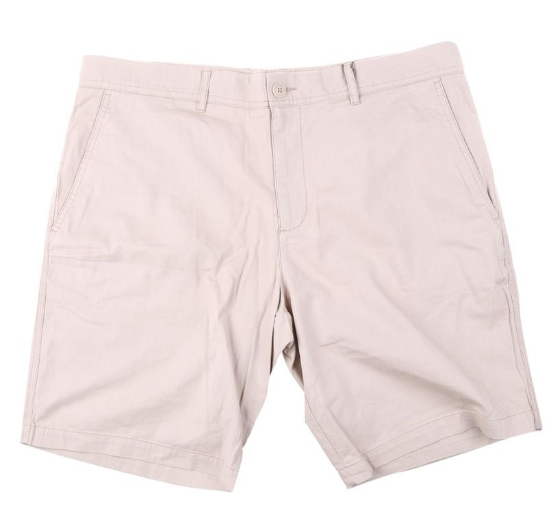 SPORTSCRAFT Men`s Textured Short, Size 36, Cotton/ Elastane, Stone. Buyers