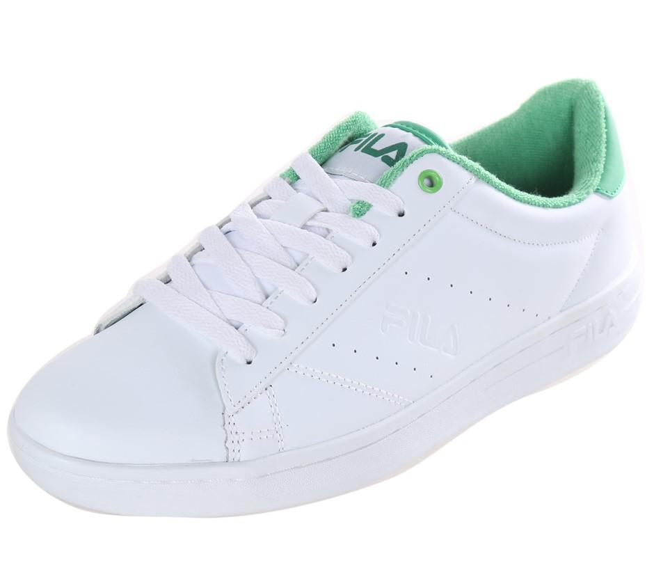 FILA Street Ladies Tennis Sport Shoes, Size UK 5, Leather - PU Upper; White