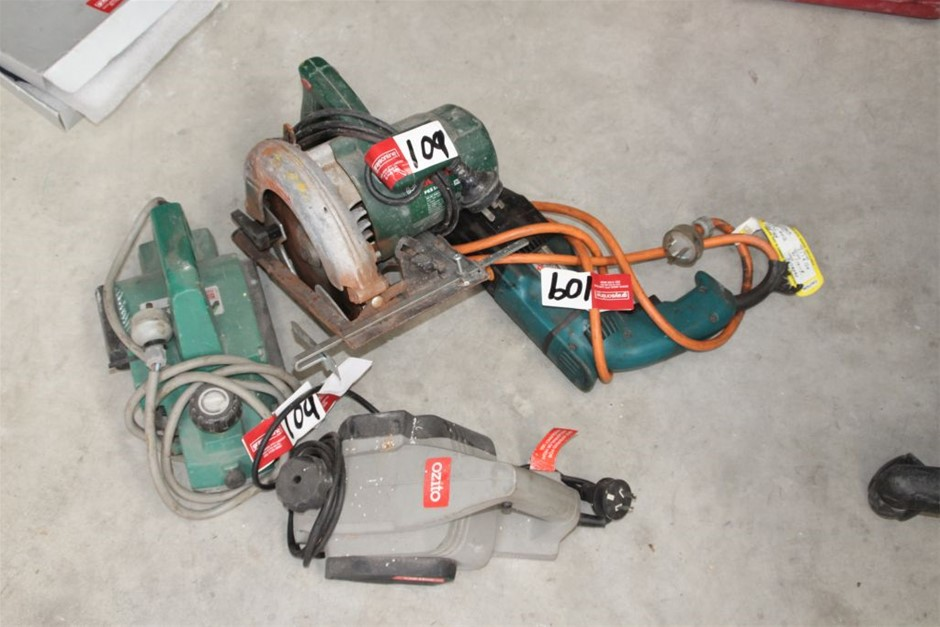 Assorted Power Hand Tools