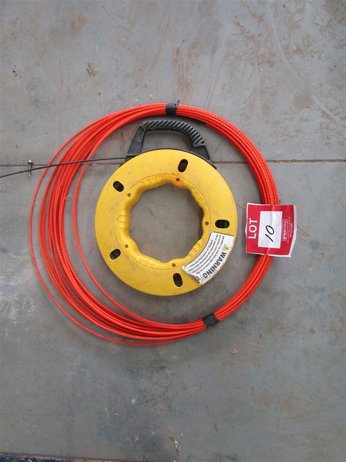 Quantity of 2x Reels Polyester Cable Puller