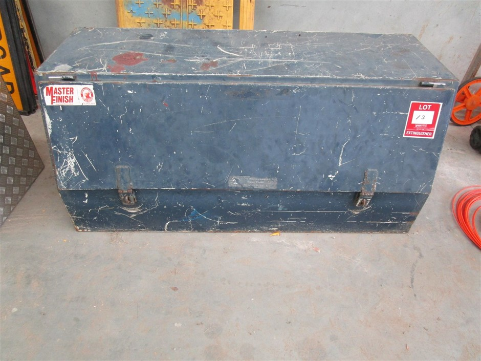 Steel Fabricated Tool Box