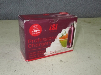 Large Qty of Creme Chargers