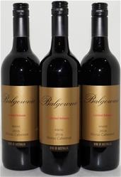 Balgownie Limited Release Cabernet Shiraz 2016 (3 x 750mL), Bendigo,VIC.