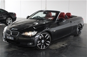 Unreserved 2008 BMW 3 25i E93 Automatic Convertible