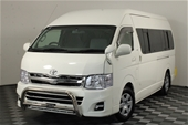 Unreserved 2005 Toyota Hiace Commuter KDH222R T/D AT