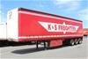 2002 Freighter 45' Triaxle Tautliner Trailer