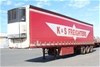 1997 Freighter 45' Triaxle Refrigerated Trailer