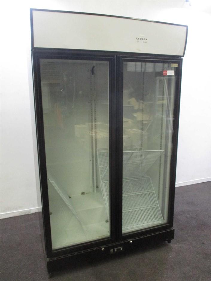 GD1000H 2 Glass Door - Upright Refrigerator