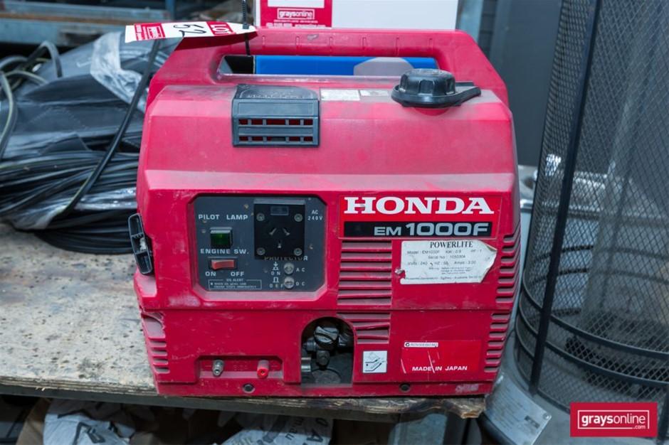 Portable Generator, Make: Honda, Model: em10000F