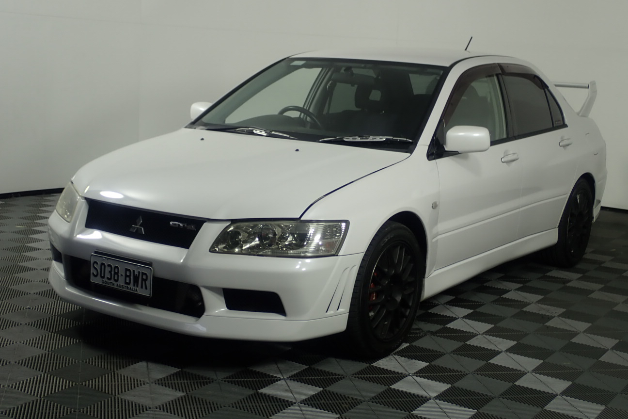 2002 Mitsubishi Evolution VII Automatic Sedan