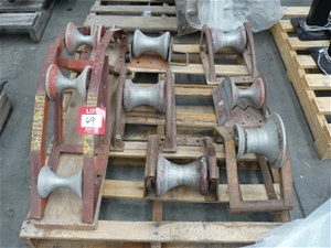 Assorted Cable Rollers