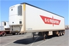 2002 Maxitrans 45' Triaxle Refrigerated Trailer