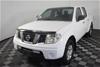 2012 Nissan Navara RX D40 Turbo Diesel Auto Dual Cab, 118,931km