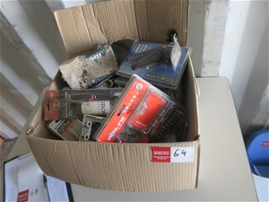 Box of Assorted Electrical Accessories &