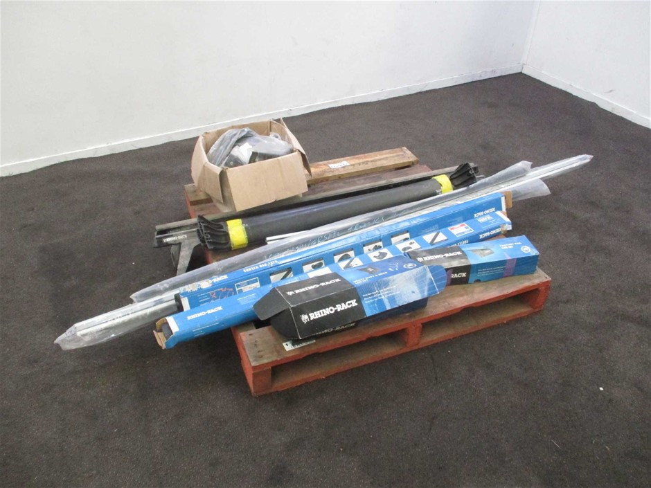 Pallet of Roof Racks and Fittings