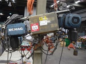 1993 Mannesmann Demas Electric Chain Hoi