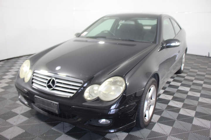 2005 Mercedes Benz C200 Kompressor CL203 Automatic Coupe