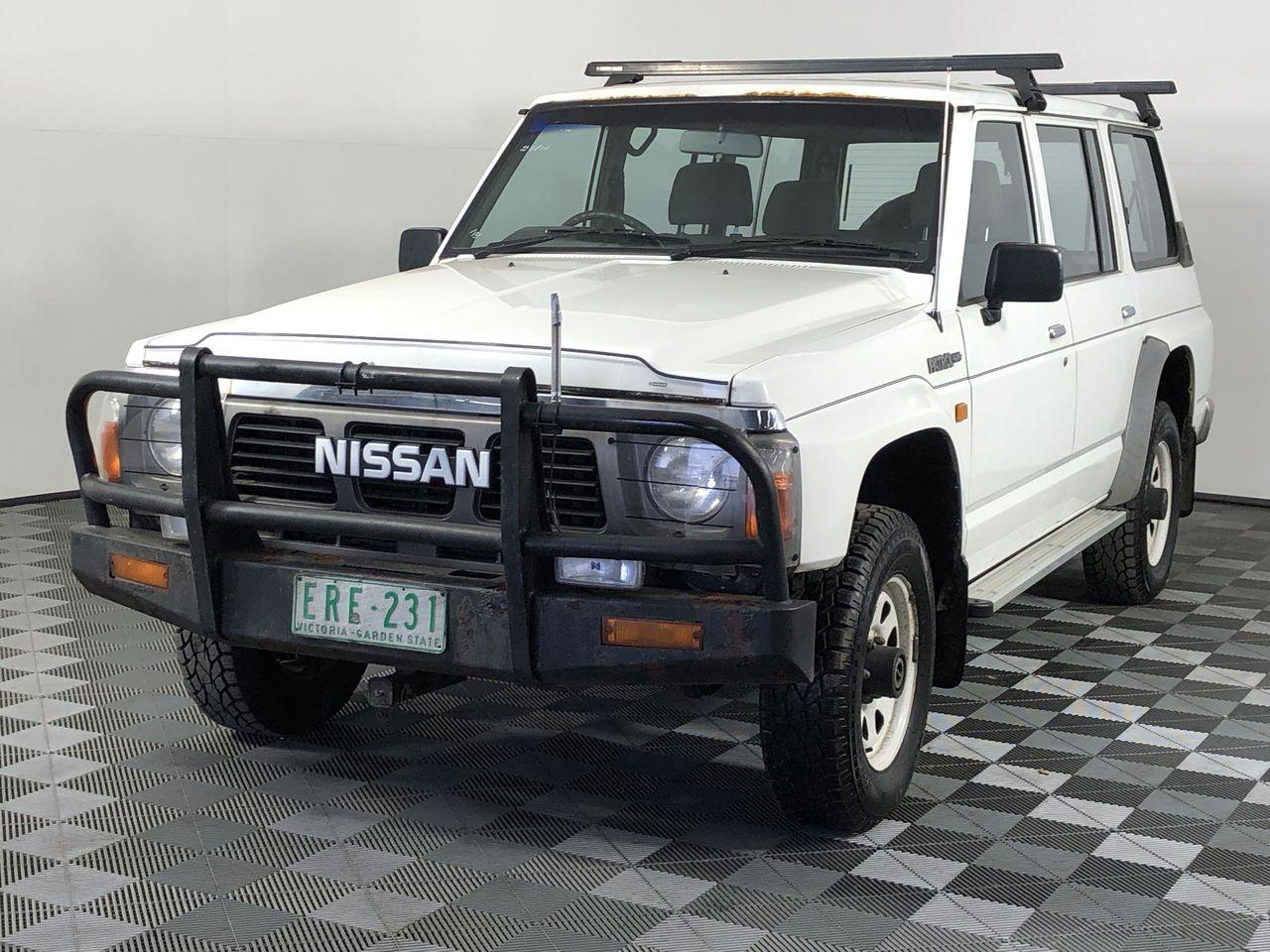 1991 Nissan Patrol GQ Manual 7 Seats Wagon