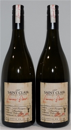 Saint Clair Pioneer Block Foundation Sav Blanc 2016 (2x 750mL), NZ