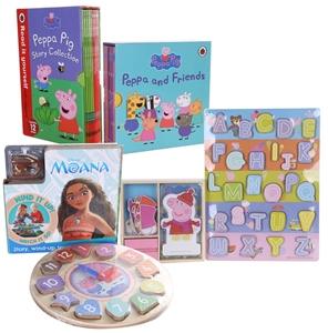 19 x Assorted PEPPA PIG Storybooks & Pla