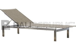 2 x NUSA DUA Sunloungers with Taupe Slin