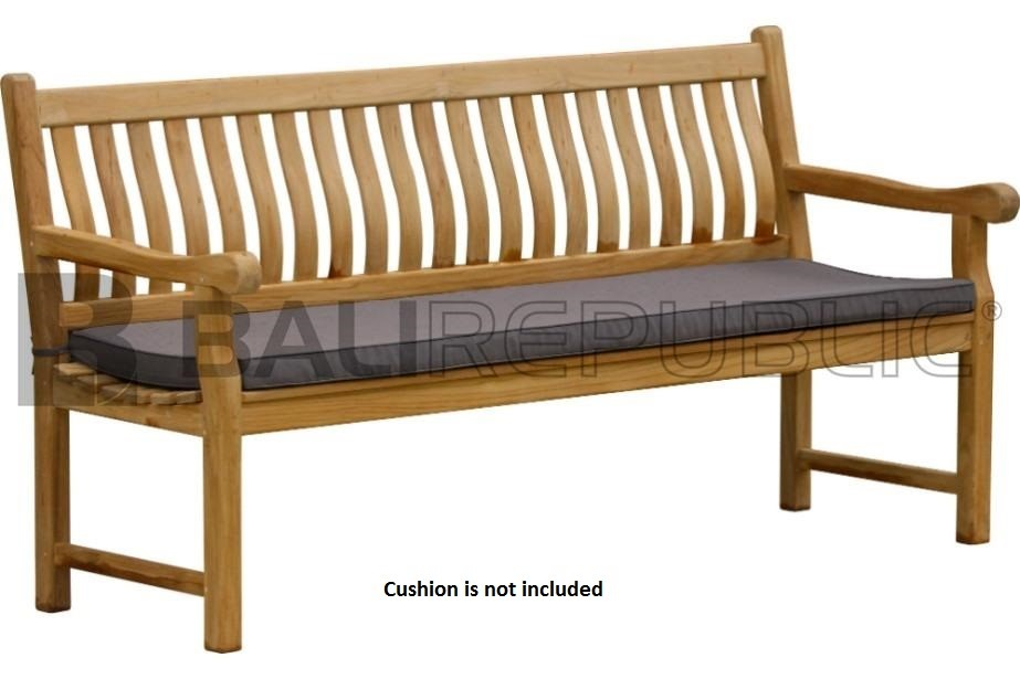 1 x Luxurious BALI Bench Seat 180 by Bali Republic