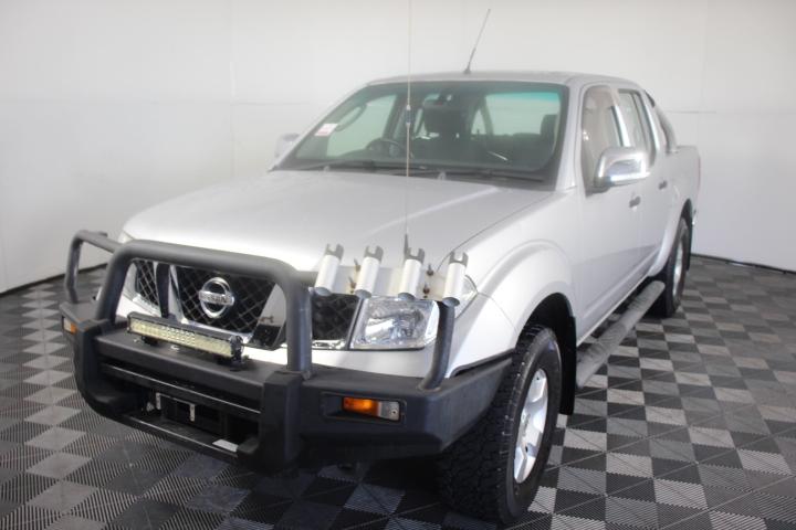 2007 Nissan Navara ST-X (4x4) D40 Turbo Diesel Manual Dual Cab