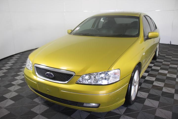 2003 Ford Fairmont Ghia BA Automatic Sedan (WOVR)